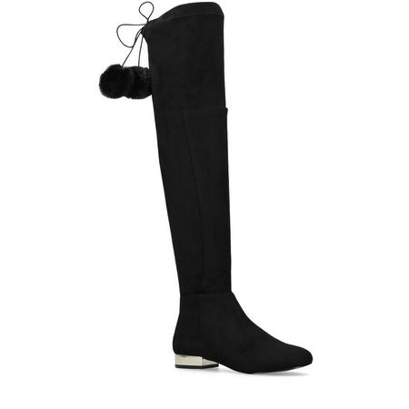 Vicky Knee High Black
