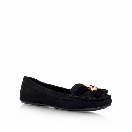Leaf Loafers Black