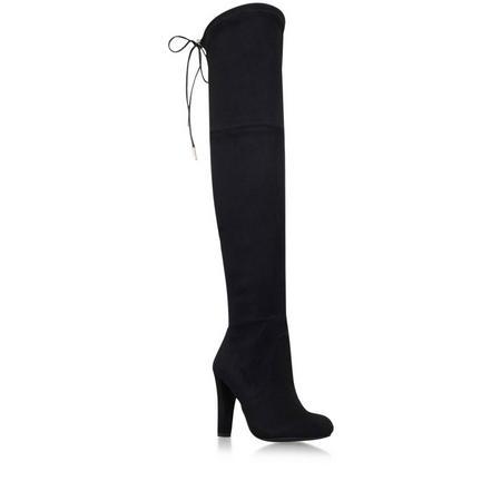 Sammy Knee High Boot Black
