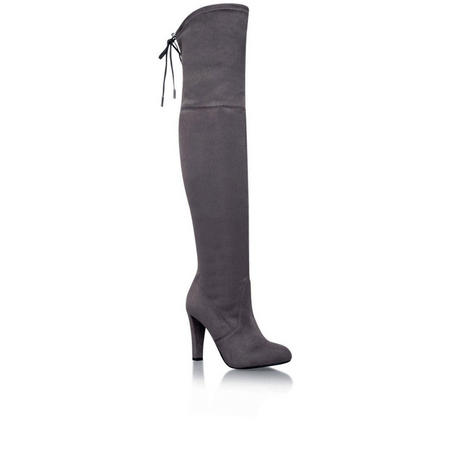Sammy Knee High Boot Grey
