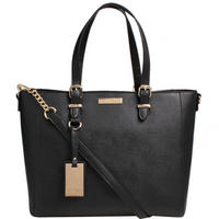 Dina Winged Tote Black