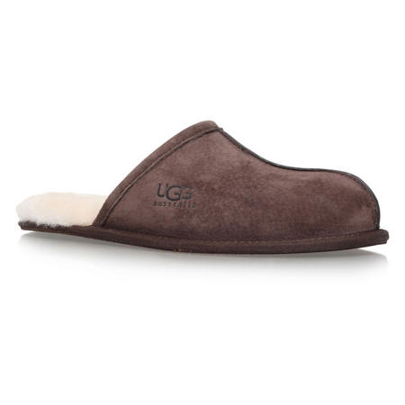 Men S Scuff Slippers Brown