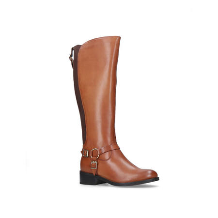 Petra Knee High Boots Brown