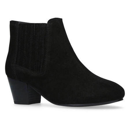 Sonic Ankle Boots Black