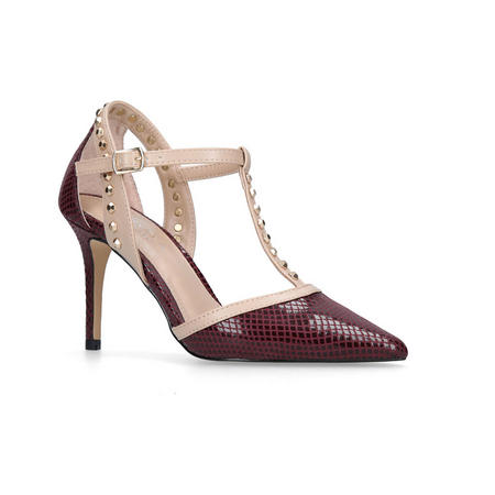 Kankan Court Shoes Red