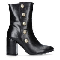 Soldier Ankle Boots Black
