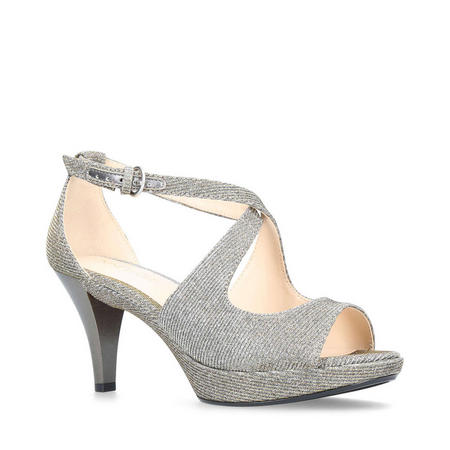 Jubilee Occasion Shoes Silver