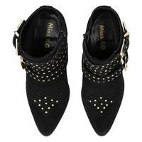 Tiger Ankle Boots Black