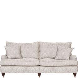 Lansdowne Sofa, Traviata Damask Silver