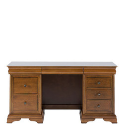 Louis Philippe 7 Drawer Dressing Table