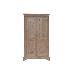 Louis Phillipe All Hanging Double Robe, Driftwood Finish LR1224N