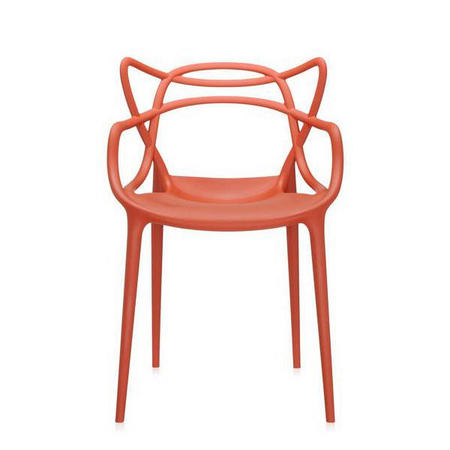 Masters Chair Set Of 2 Rust Orange