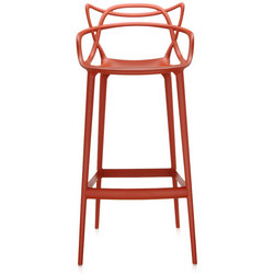 Masters Stool 75cm Rust Orange