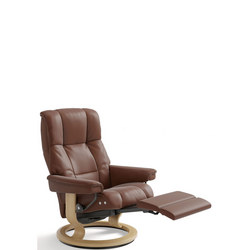 Mayfair Chair, Classic Leg Comfort Electric, Paloma Copper and Oak