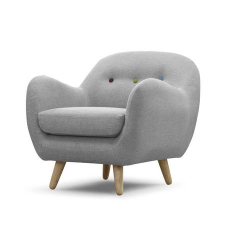 Retro Curved Chair