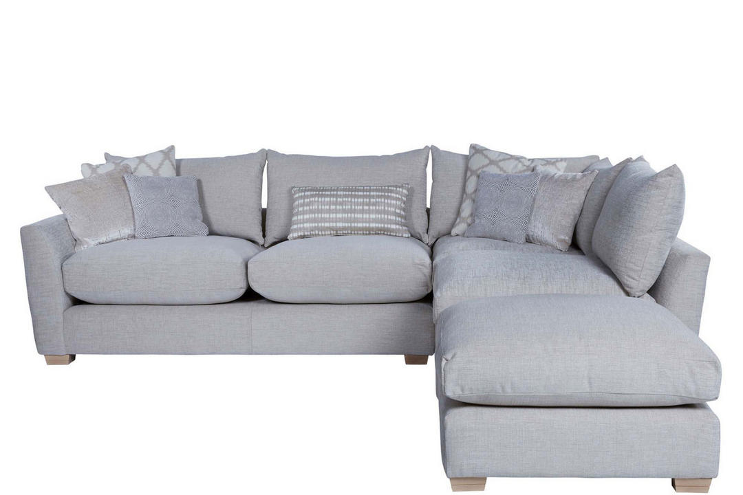 Metro Corner Sofa with Scatter Cushions Left Hand Facing