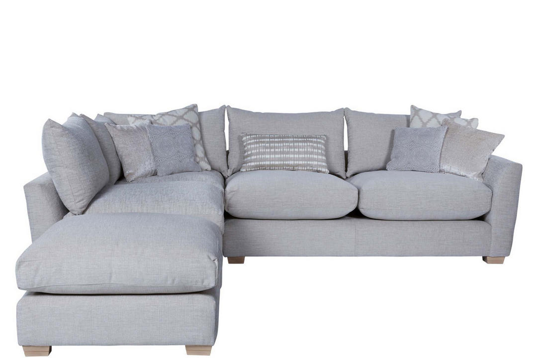 Metro Corner Sofa with Scatter Cushions Right Hand Facing