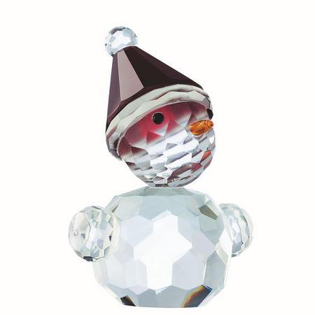 Living Magical Blushing Snowman