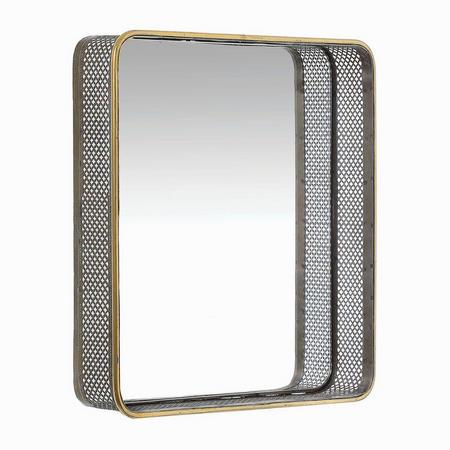 Wren Medium Mirror Square