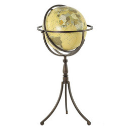 Antique Globe & Stand