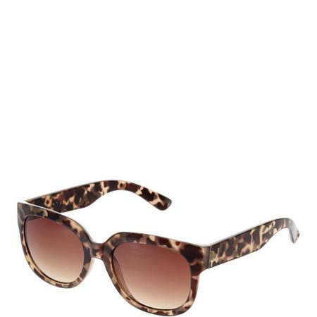Valencia Square Tortoiseshell Sunglasses Green