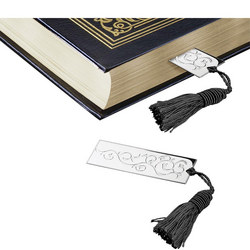 BM101 Book Mark Black Tassel