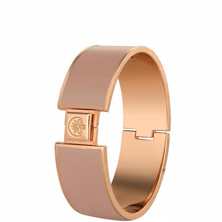 Champagne Goldplate Bangle Nude