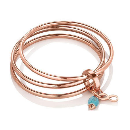 Triple Bangle Birthstone December