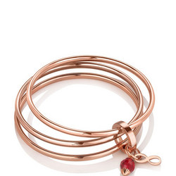 Triple Bangle Birthstone July