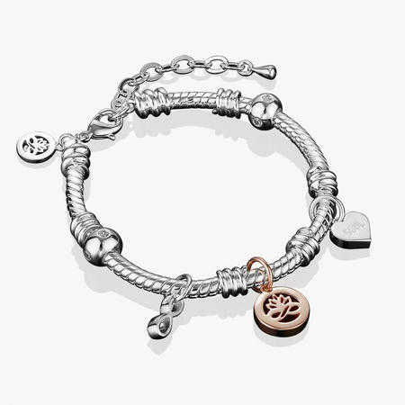 Silverplate Charm Bracelet
