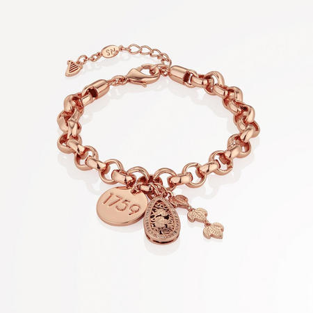 Guinness Rose Gold Charm Bracelet