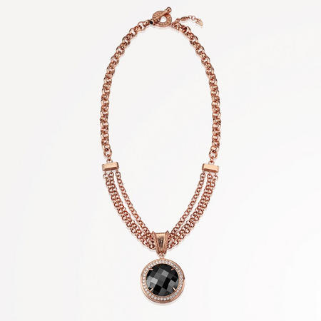 Guinness Rose Goldplated Necklace