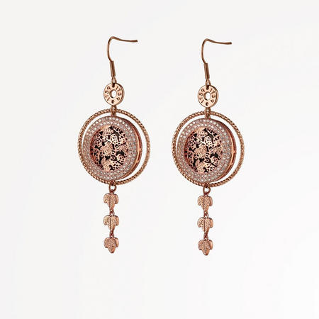 Guinness Rose Goldplated Earrings