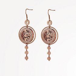 Guinness Rose Goldplated Earrings