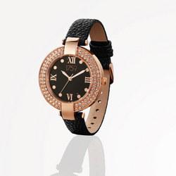 Guinness Ladies Watch Black Strap