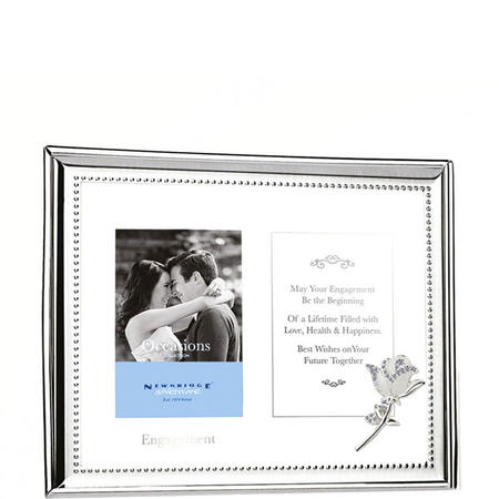 S7642 Engagement Double Frame 3x4
