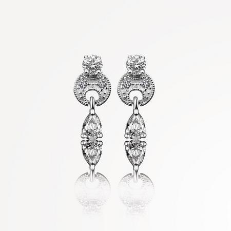 VER6060 Vintage Drop Earrings