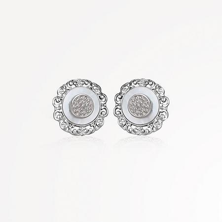 Grace Kelly Stud Earrings