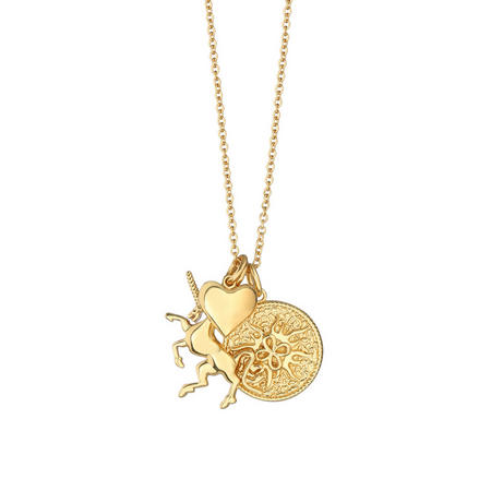 Amy Huberman Necklace with Charms