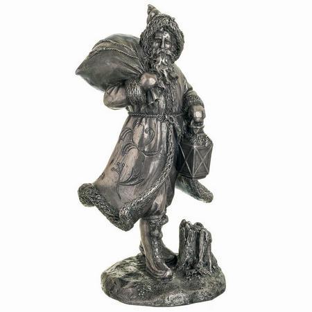 """New Victorian Small Ornament 7.75 """" Bronze"""