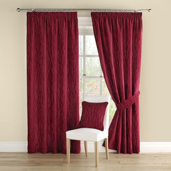 Meadow Curtains Red
