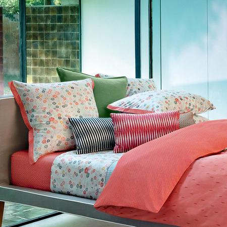 Prunelle Rose Square Pillowcase