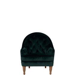 O'Hara Armchair Plush Velvet Ochre