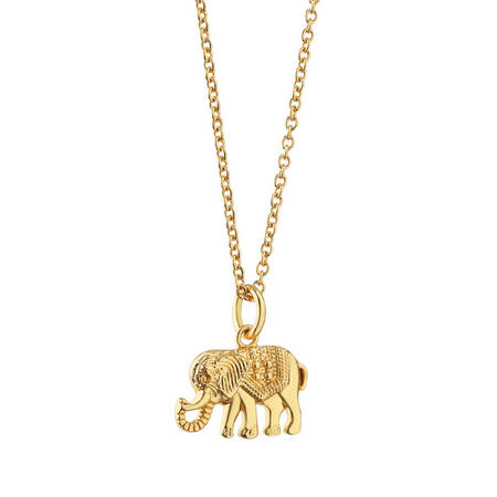 Amy Huberman Pendant with Elephant