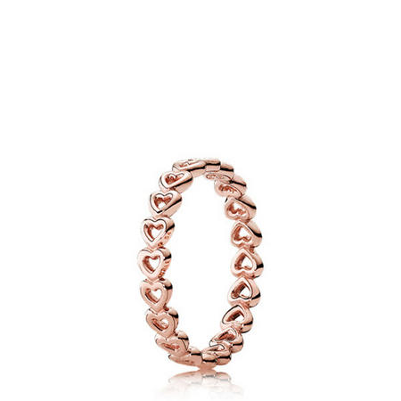 Linked Love Ring Pandora Rose