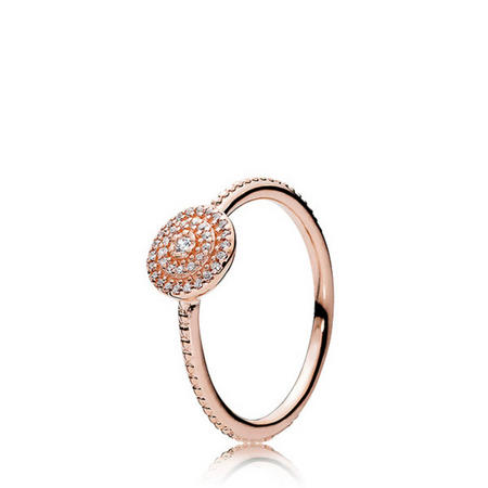 Radiant Elegance Ring Pandora Rose