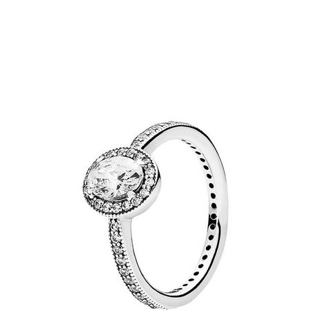 Vintage Elegance Ring Silver