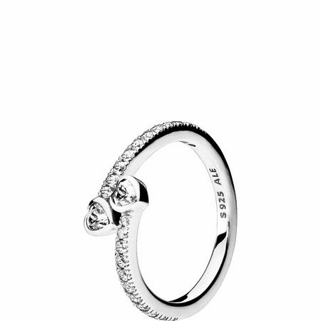 Forever Hearts Ring Sterling Silver