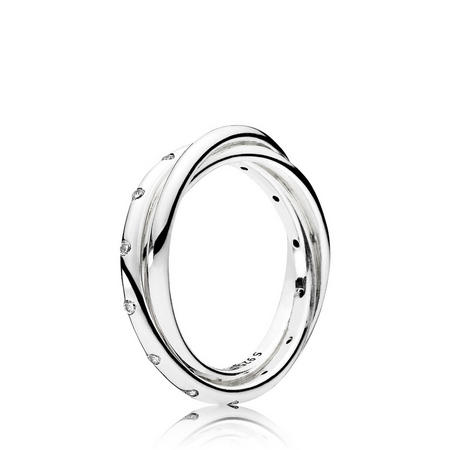 Forever Joined Ring Sterling Silver