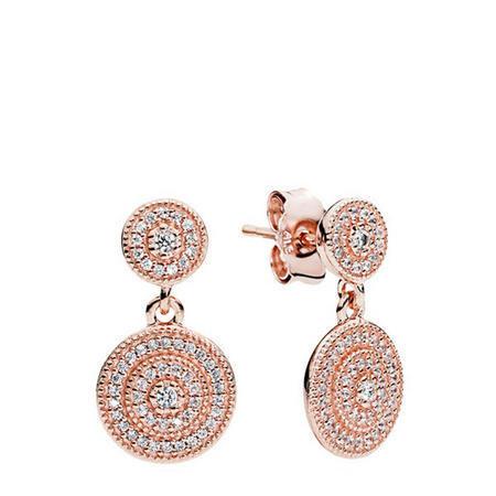 Radiant Elegance Earrings Pandora Rose